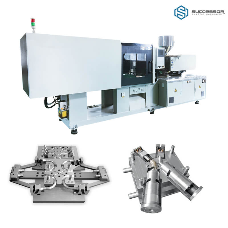 PVC injection molding machine 1