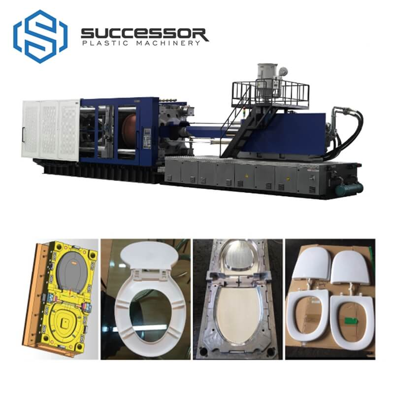 Plastic Toilet Seat Cover Making Injection Molding Machine
