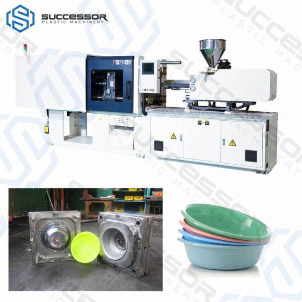 Plastic basin injection Molding machine