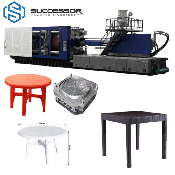 Platic Desk Table Making Injection Molding Machine