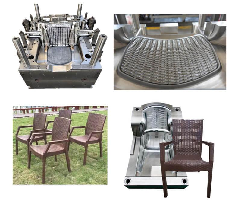 Plastic Rattan Chair Injection Molding Machine/ Plastic Rattan Making Machine