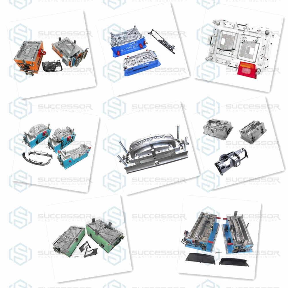 Plastic Automotive Car Parts Injection Molding Machine