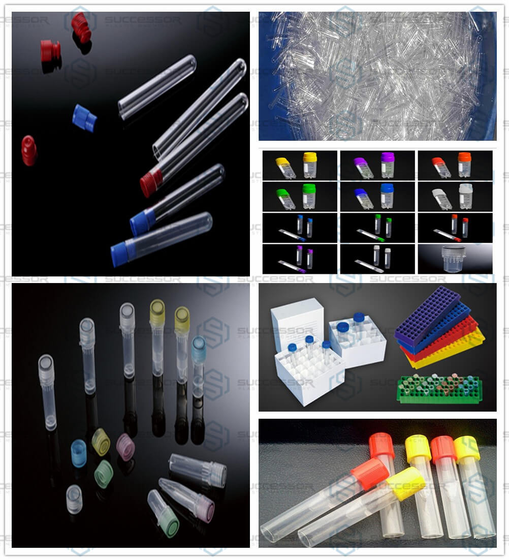 Plastic Blood Collection Tube Test Tube Making Injection Molding Machine