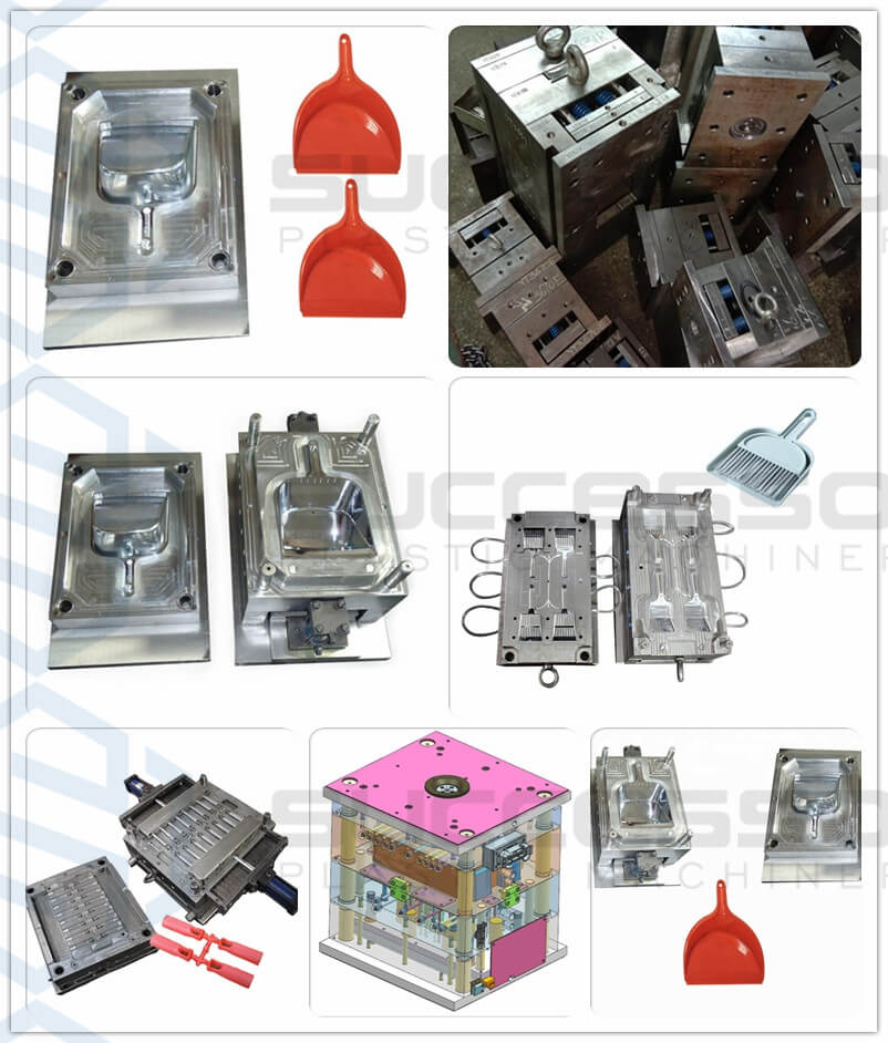 Plastic Dustpan Broom Injection Molding Machine