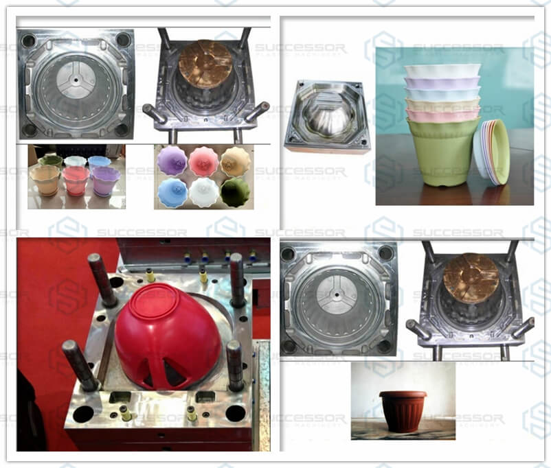 Plastic Flower Pot Making Injection Molding Machine