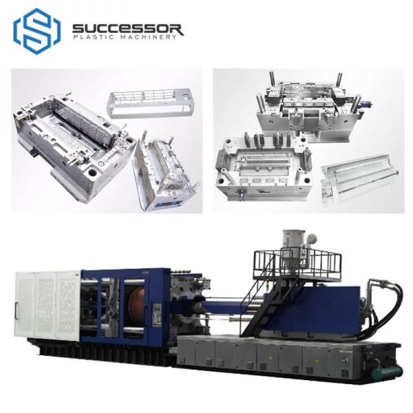 Plastic Air Conditioner Parts Injection Molding Machine