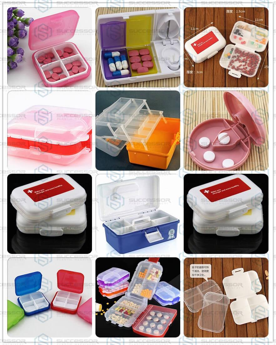 Plastic Pill Medicine Box Making Injection Molding Machine
