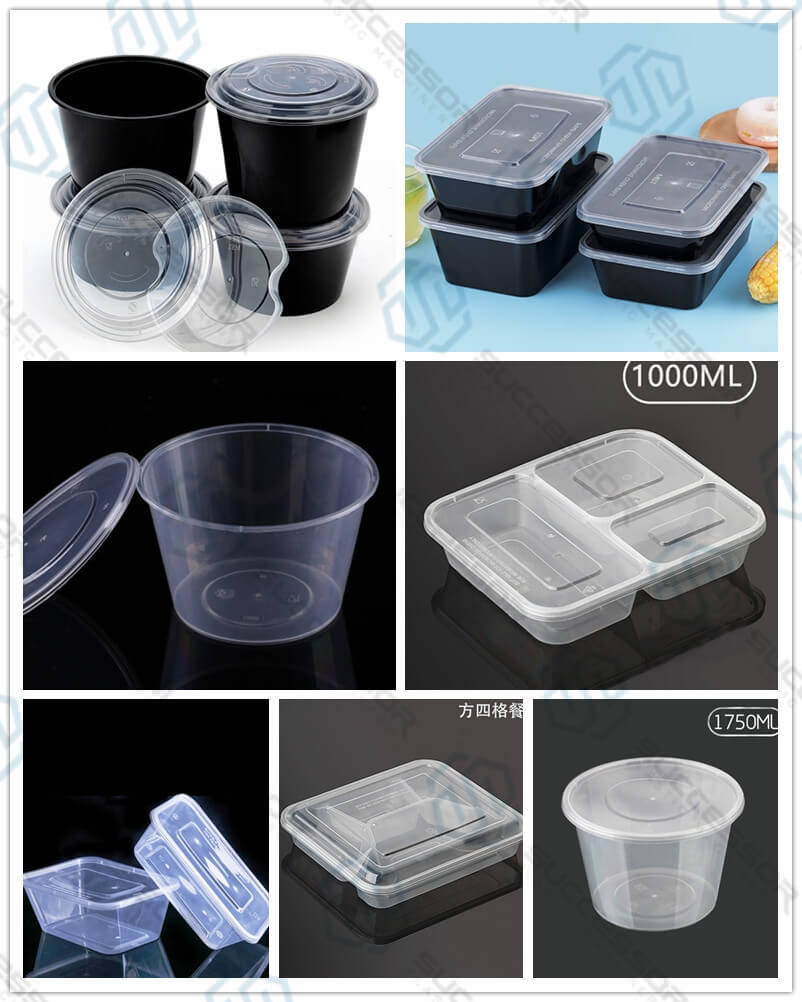 Plastic Luchbox/Snack Box/ Fastfood Box Injection Molding Machine